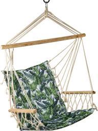 Royokamp  Hamak fotel brazylijski 100x55cm podłokietnikami zielony