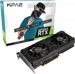 Karta graficzna KFA2 GeForce RTX 3060 1-Click OC 12GB GDDR6 (36NOL7MD1VOK)