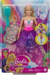 Barbie Barbie Księżniczka Syrenia przemiana (GTF92)