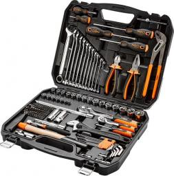 """NEO Zestaw narzędziowy 1/2"""" 1/4"""" 143 elementów (08-945)"""