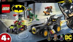 LEGO Batman kontra Joker pościg Batmobilem (76180)