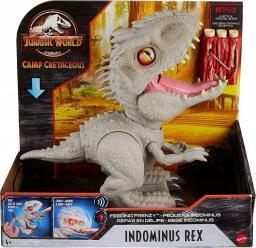 Mattel Jurassic World Dinozaur Indominus Rex - Atakuj i pożeraj GMT90