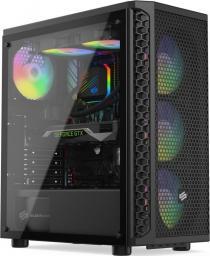 Komputer Game X G300, Ryzen 5 1600AF, 8 GB, GTX 1660 Ti, 500 GB M.2 PCIe 1 TB HDD
