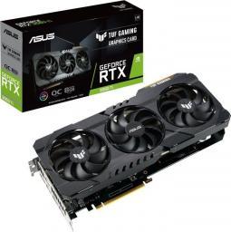 Karta graficzna Asus TUF Gaming GeForce RTX 3060 Ti Gaming OC V2 8GB GDDR6X (TUF-RTX3060TI-O8G-V2-GAMING)