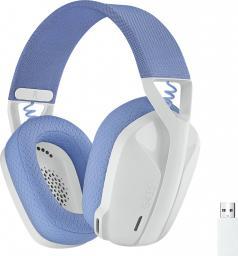 Słuchawki Logitech G435 Wireless white (981-001074)