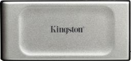 Dysk zewnętrzny Kingston SSD XS2000 500 GB Srebrno-czarny (SXS2000/500G)