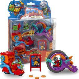 Magic Box Super Zings seria 3 Pizza Riders Mission 2 figurki 2 pojazdy