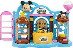 Sambro Tsum Tsum Squishies Sklepik z wyrzutnią oraz 2 figurki Myszka Mickey i Alicja