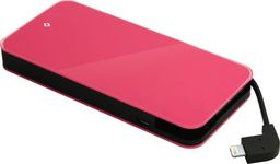 Powerbank TTEC EasyCharge Slim 6000 mAh Różowy (2BB110P)