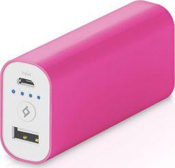 Powerbank TTEC TTEC Ultra Universal Powerbank 5200mAh USB różowy (2BB107P) uniwersalny