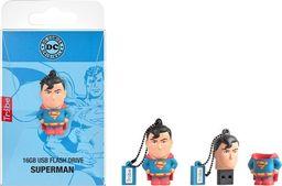 Pendrive Tribe Pendrive 16 GB Superman uniwersalny