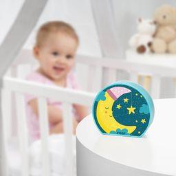 reer Lampka nocna LED na baterie dla dzieci księżyc REER uniwersalny