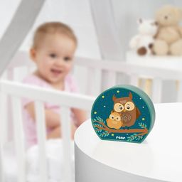 reer Lampka nocna LED na baterie dla dzieci sowa REER uniwersalny