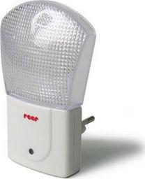 Lampka wtykowa do gniazdka Reer Lampka nocna LED z czujnikiem, moc: 0.5W 230V REER uniwersalny