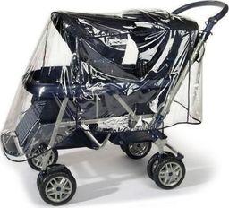reer Folia przeciwdeszczowa na wózek podwójny, REER uniwersalny