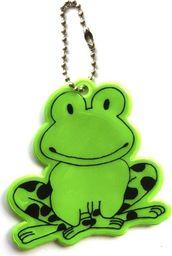 Kamdo Breloczek odblaskowy odblask dla dziecka żabka uniwersalny