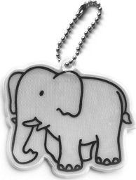Kamdo Breloczek odblaskowy odblask dla dziecka słoń uniwersalny
