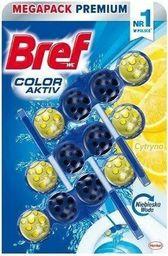 BREF Bref Color Aktiv Do Wc Barwiący 3x50g Lemon