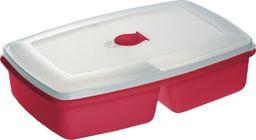 Plast Team Plast Team Pojemnik Do Mikrofalówki Podwójny Czerwony 3104