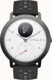 Smartwatch Withings Steel HR Sport Czarny Biały  (HWA03b-40white-sport-all-Inter)