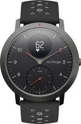 Smartwatch Withings Steel HR Sport Czarny  (HWA03b-40black-sport-all-Inter)