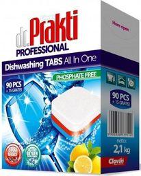Clovin Dr.Prakti Tabletki Do Zmywarek 90+15szt Clovin