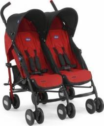 Wózek Chicco Echo Twin Garnet czerwony