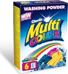 Clovin Proszek Multicolor 600g Karton Clovin