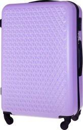Solier Duża walizka podróżna STL870 fioletowa