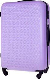 Solier Mała walizka kabinowa 55x35x22cm ABS STL870 fioletowa