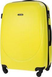 Solier Średnia walizka podróżna STL856 żółta