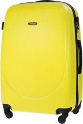 Solier Mała walizka kabinowa 55x35x22cm ABS STL856 żółta