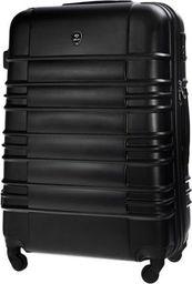 Solier Średnia walizka podróżna STL838 czarna