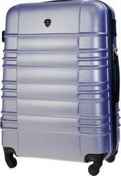 Solier Średnia walizka podróżna STL838 lawendowa