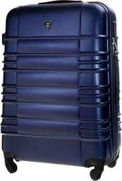 Solier Mała walizka kabinowa ABS 55x37x24cm S STL838 granatowa