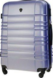 Solier Mała walizka kabinowa ABS 55x37x24cm STL838 lawendowa