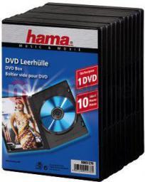 Hama Pudełka na płyty DVD 10szt (512760000)