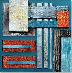 Feeby Obraz na płótnie - Canvas, Abstrakcja 62 20x20