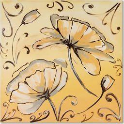 Feeby Obraz na płótnie - Canvas, Kwiaty 2 20x20