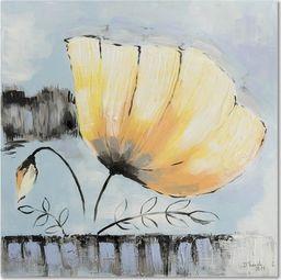 Feeby Obraz na płótnie - Canvas, Żółty kwiat 2 20x20