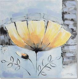 Feeby Obraz na płótnie - Canvas, Żółty kwiat 20x20