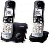 Telefon bezprzewodowy Panasonic KX-TG6812PDB
