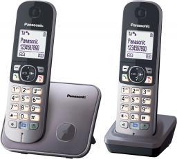 Telefon bezprzewodowy Panasonic KX-TG6812PDM