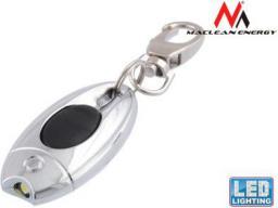 Latarka Maclean 1LED brelok stalowy MCE15