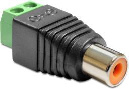 Adapter AV Delock RCA - Terminal Block 2 pin (65418)