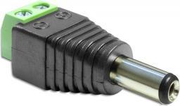 Adapter AV Delock Adapter DC 2.1 x 5.5 mm męski - Terminal Block 2 pin (65396)
