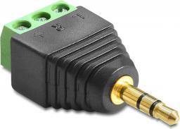 Adapter AV Delock Stereo 3.5mm - Terminal Block 3-pin (65419)