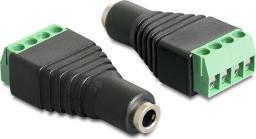Adapter AV Delock Jack 3.5 mm - 4 pin Terminal Block (65457)