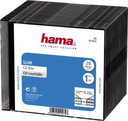 Hama Pudełka na płyty CD Slim 20 szt (114320000)