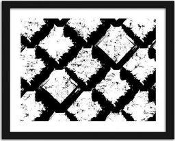 Feeby Obraz w ramie czarnej, Abstrakcja 4 29,7x21